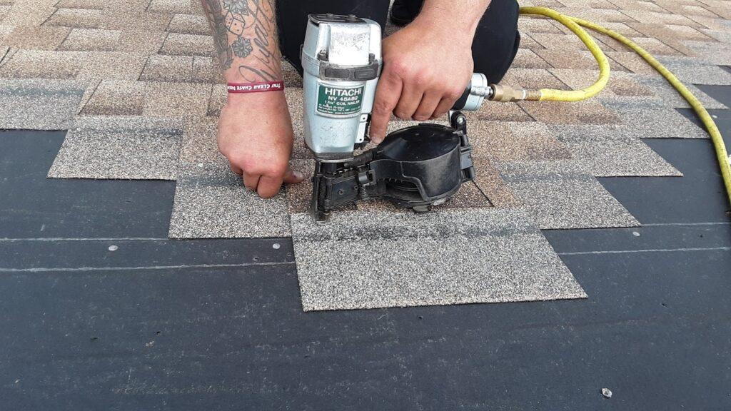 Installing GAF Timberline HD asphalt shingles in Hanover PA: JWE Remodeling & Roofing