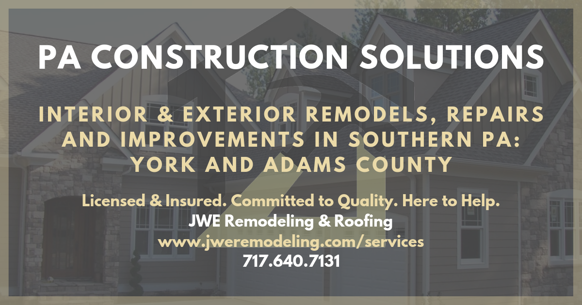 Hanover Pa Home Improvement Remodeling Services By Jwe