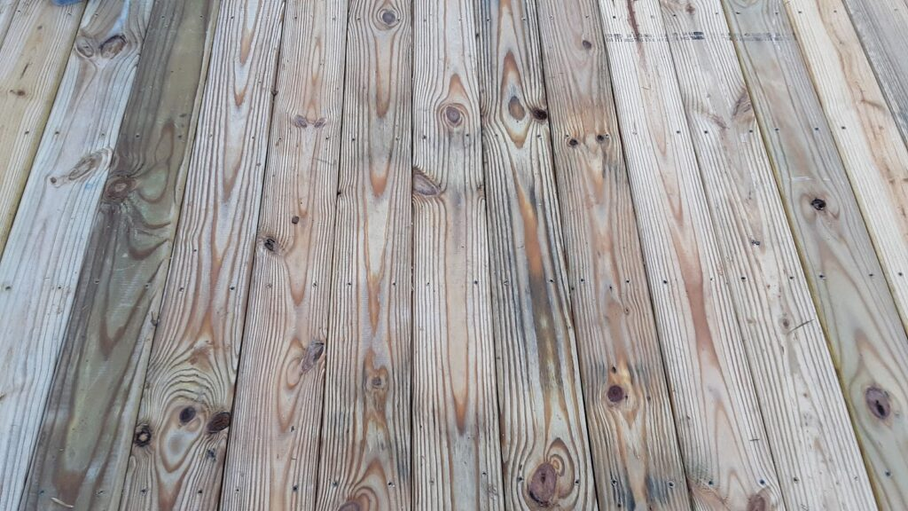Exterior deck flooring construction in Manchester MD 21088
