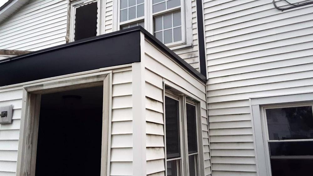 Metal-Wrap Exterior Trim: Header, Window Casing