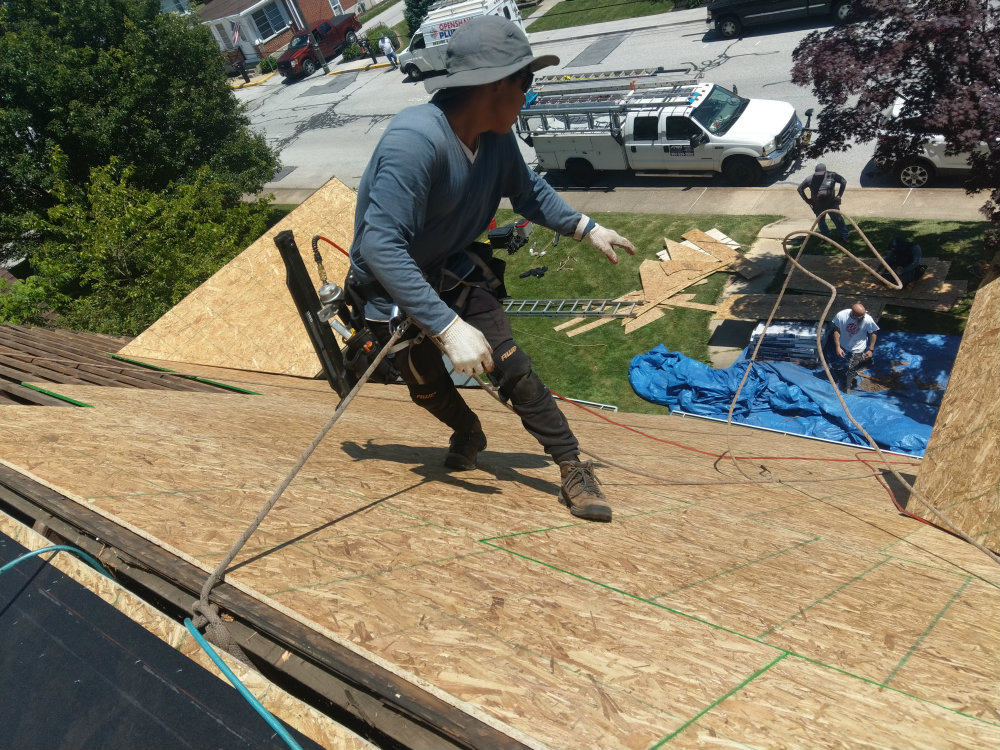 York County PA New Freedom 17349 Roofing Project: Flashing & Felt Paper Waterproofing