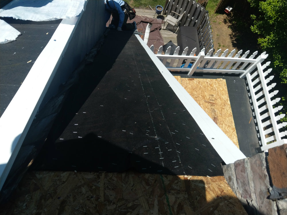 Drip Edge, Flashing & Felt Paper | York County PA Roofing by JWE in New Freedom PA 17349