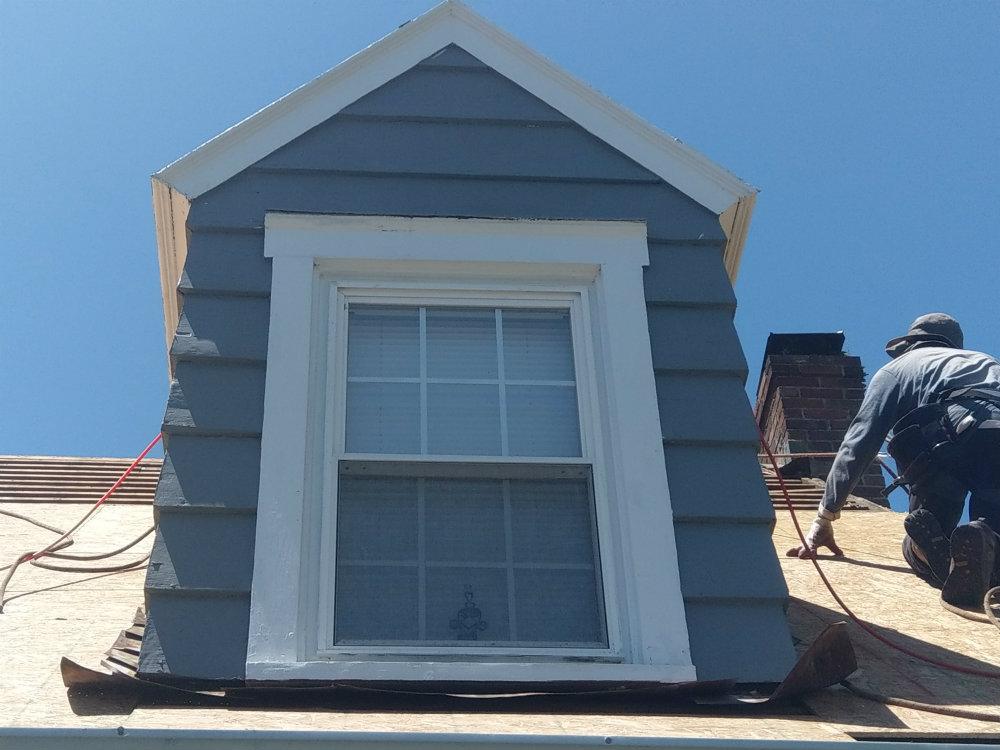 Dormer Flashing in York County PA Roofing by JWE in New Freedom PA 17349