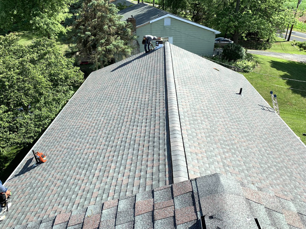 Littlestown PA 17340 Roof Replacement Contractor Installing Brand New GAF Lifetime Asphalt Shingle Roof System