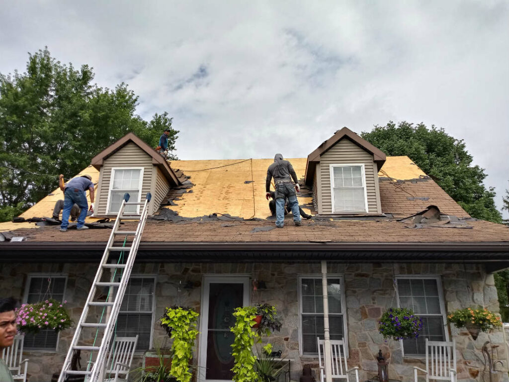 Roof Damage Repair in Hanover PA 17331 Roofing Contractor JWE Remodeling and Roofing