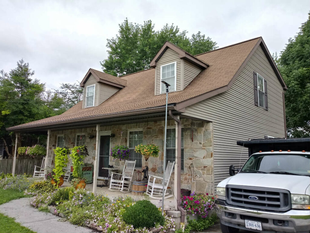 Roof Damage Repair due to Hail in Hanover PA 17331 by JWE Remodeling and Roofing