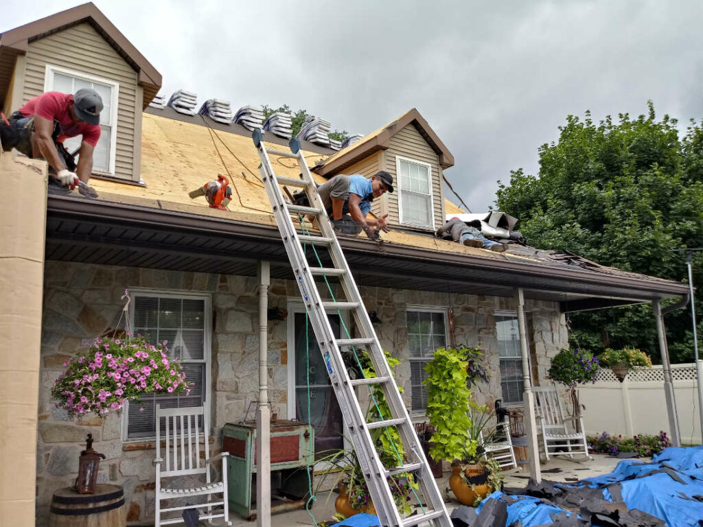 Storm Damage Roof Repair in Hanover PA 17331 Roofing Contractor JWE Remodeling and Roofing
