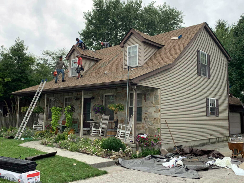 Roof Damage Repair in Hanover PA 17331 by JWE Remodeling & Roofing Contractor