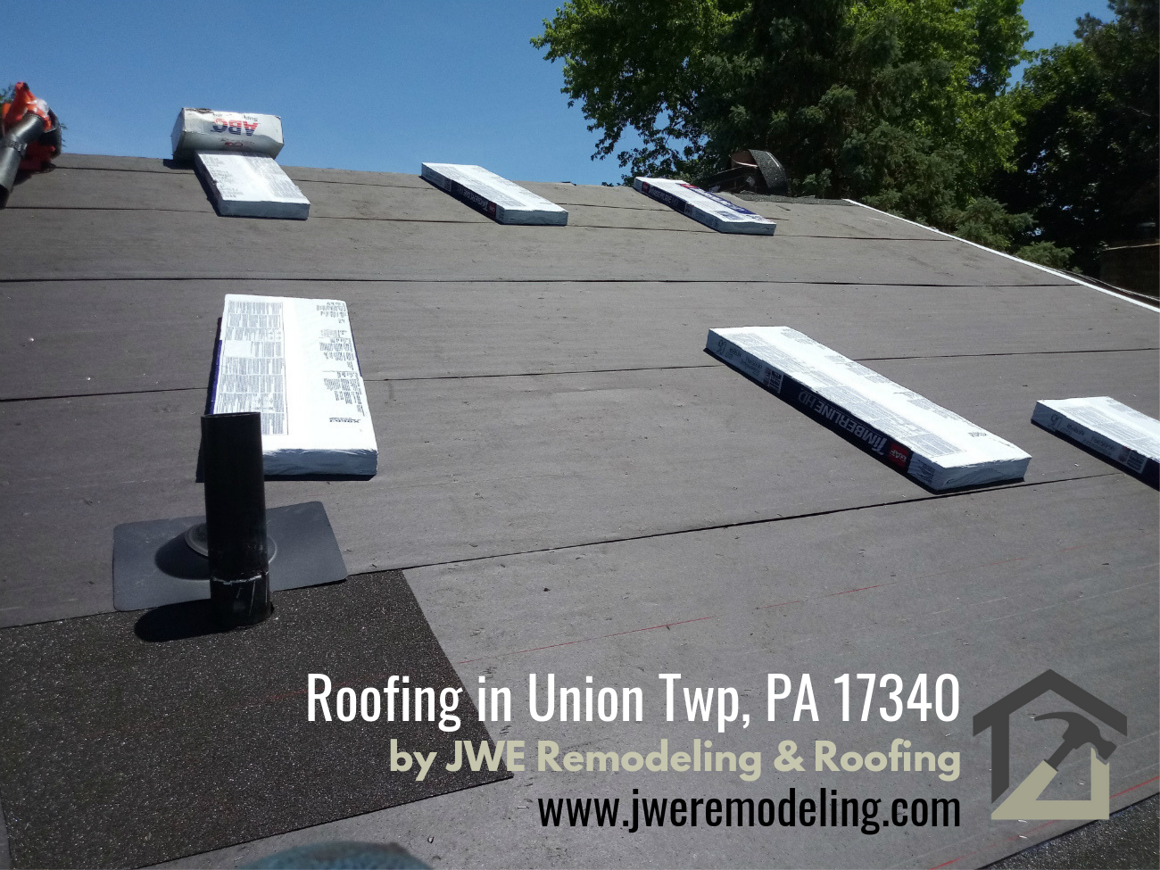 Roofing Company in Union Twp Littlestown PA 17340 JWE roof replacement expert