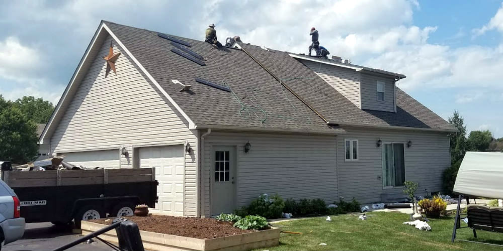 Abbottstown PA Roofing Contractor JWE provides roof replacement services due to storm damage