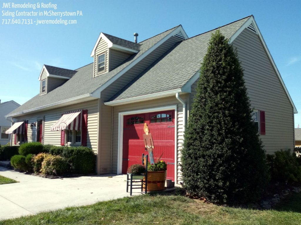 Siding Contractor in McSherrystown PA 17344 JWE Remodeling: Fascia, Gutters, Soffit, New Shutters & More