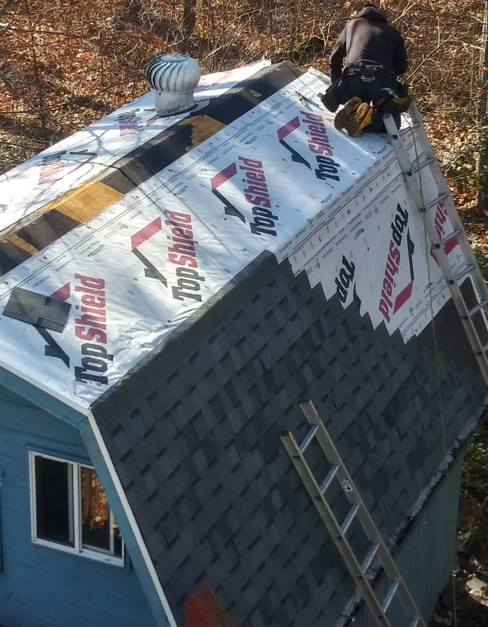 Roofing in Fairfield PA 17320 by JWE Remodeling and Roofing Contracotrs
