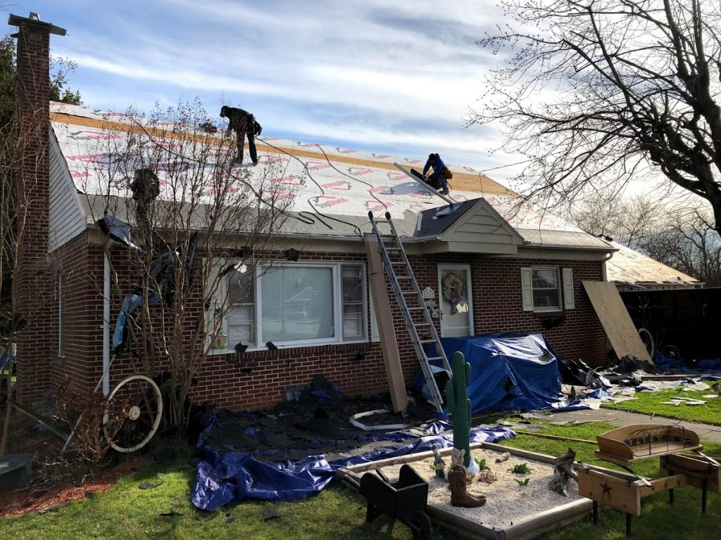 Roofing in New Oxford PA 17350 by JWE Roofing Contractors