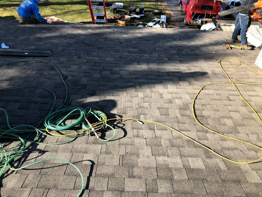 New Driftwood color shingles by IKO Cambridge lifetime architectural asphalt roofing shingle