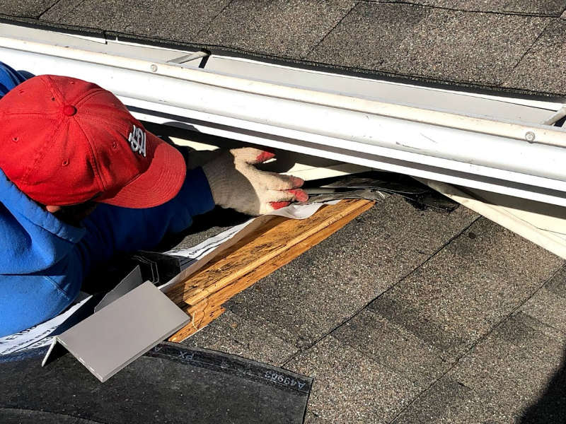 Flashing and edge metal is important to our Gettysburg roofing services 17325