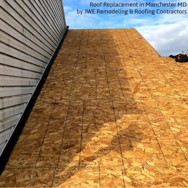 Roofing in Manchester MD by JWE Remodeling and Roofing Contractors Carroll County Maryland