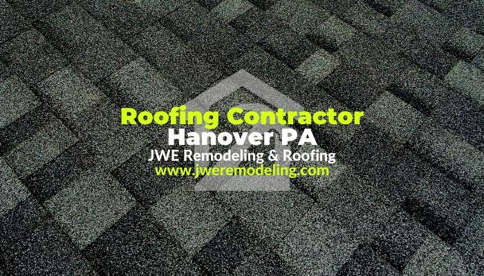 JWE Remodeling and Roofing Contractors is a high quality roofer company in Hanover PA 17331 York County roofers