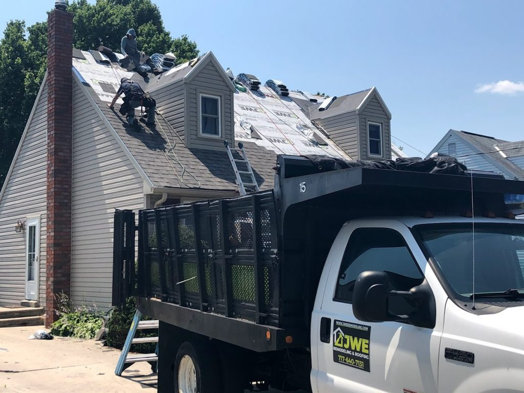York Roofing by JWE: Roof Repair Services