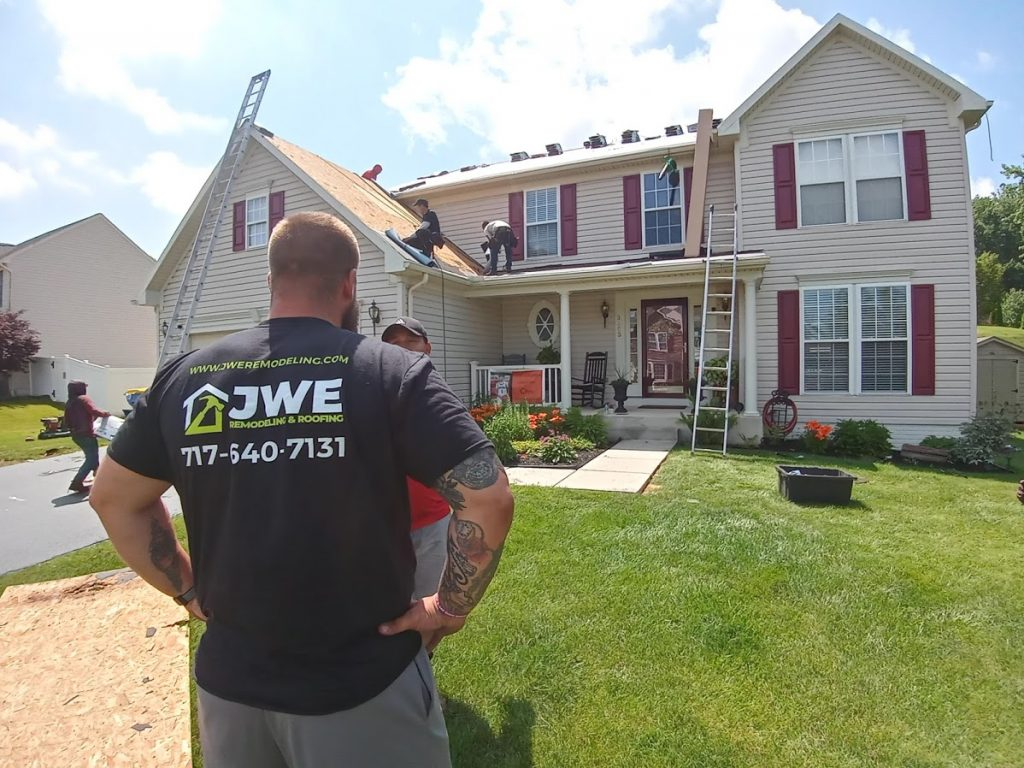 JWE roofing contractor East York PA 17402