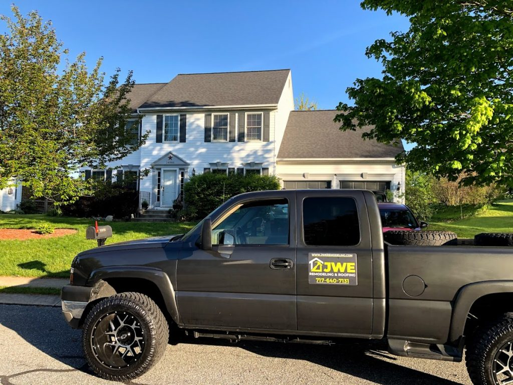 New Freedom PA roof replacement by JWE roofing contractors