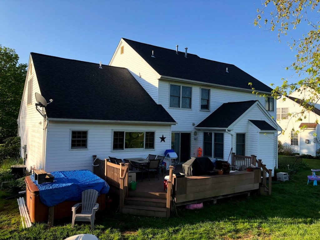 Roof replacement in New Freedom PA by JWE Roofing Contractors