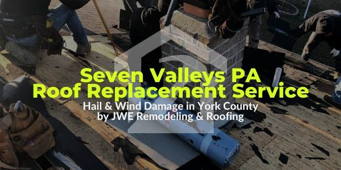 Roofing in Seven Valleys PA 17360 by JWE Roofing Contractors: roof replacement and repair services